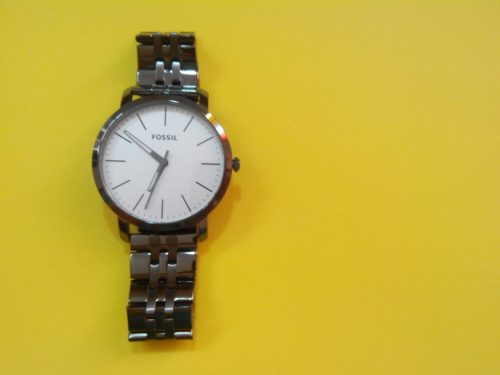 Reloj Fossil color bronce