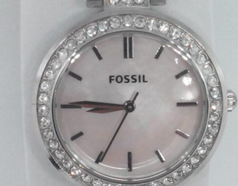 Un reloj Fossil que parece Swarovski