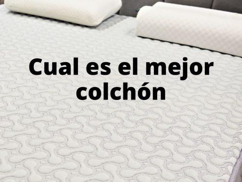 Cual es el mejor colchón