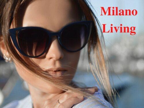 Gafas de sol elegantes y de tendencia