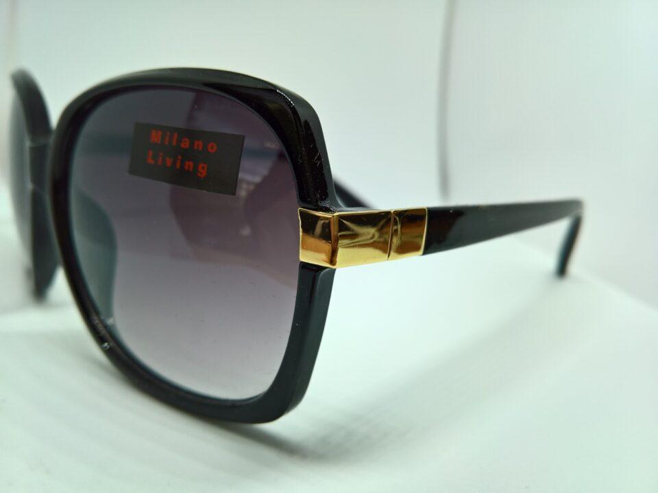 Gafas de sol feminina de Milano Living in Luxury