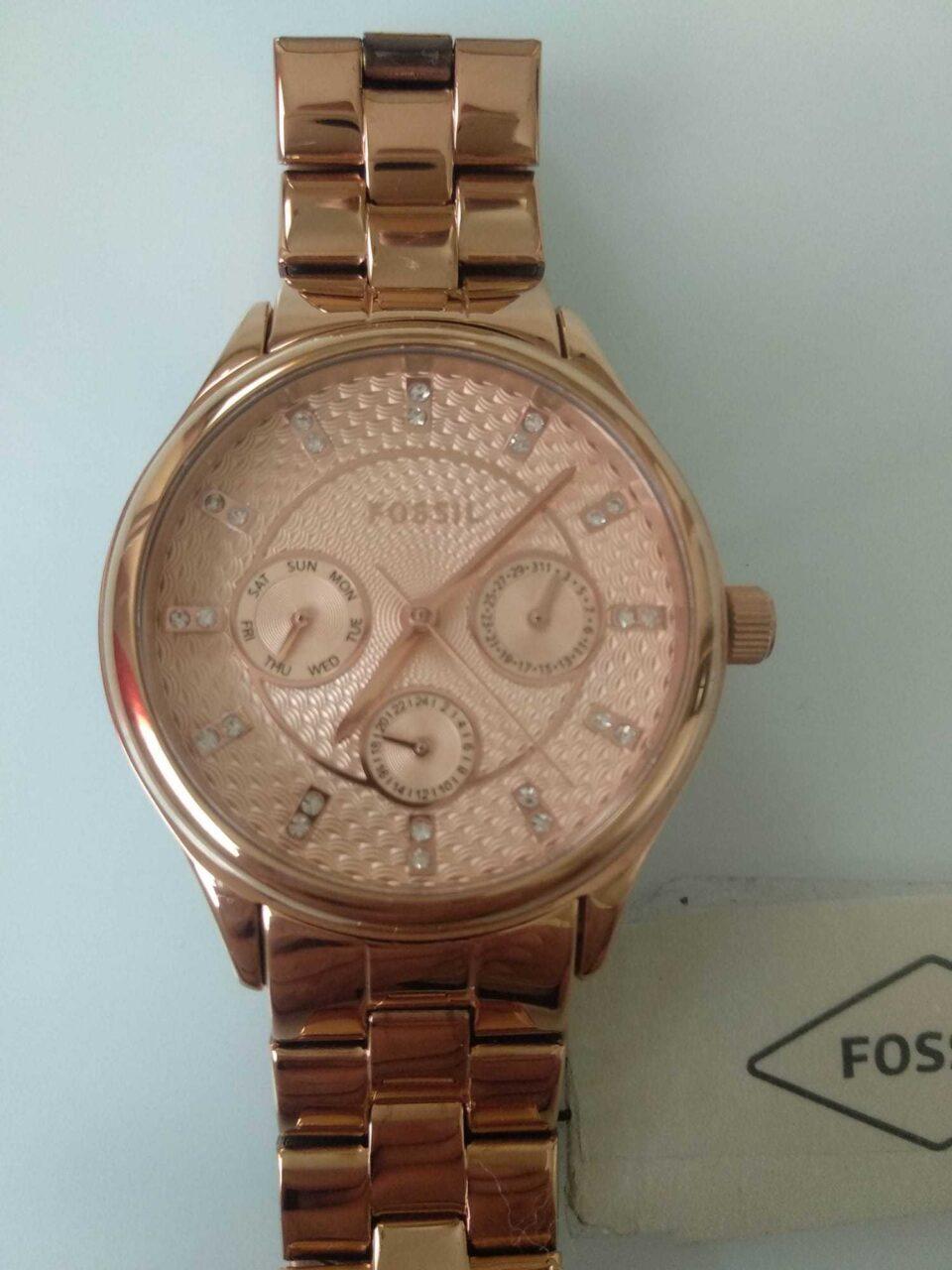 Orologio da donna color oro rosato di Fossil